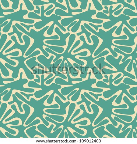 vector seamless pattern with spots - stock vector