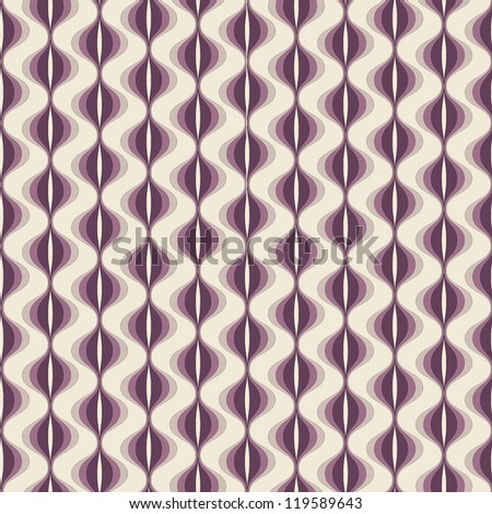 vector seamless pattern with wavy stripes. modern stylish texture. repeating colorful background