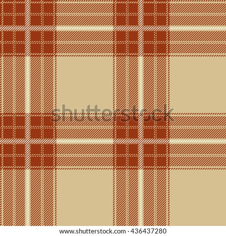 Vector seamless tartan pattern. Lumberjack flannel shirt inspired. Plaid trendy hipster style backgrounds. Suitable for decorative paper, fashion design, home and handmade crafts.