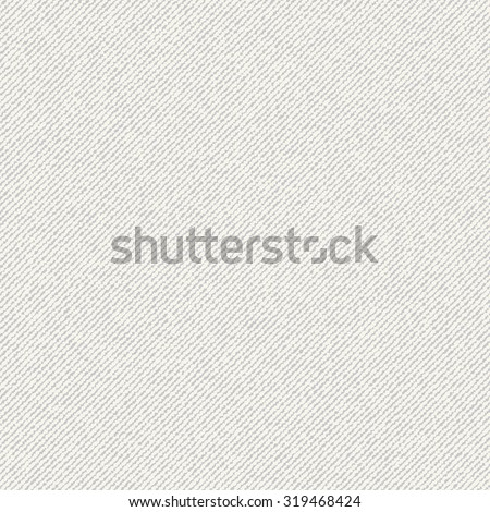 Vector Seamless texture of canvas. Fabric background - stock vector