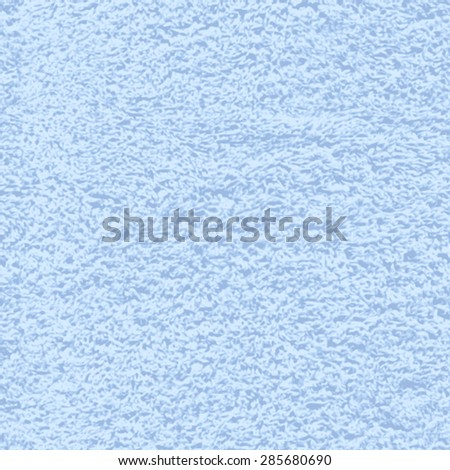 Vector seamless texture of soft terry cotton bath towel - stock vector