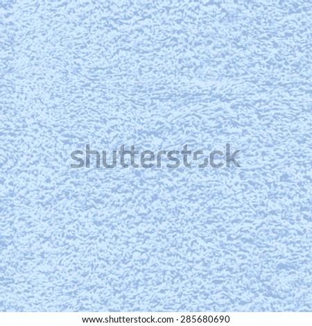Vector seamless texture of soft terry cotton bath towel - stock vector