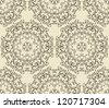vector seamless  vintage  highly detailed hexagon  pattern, fully editable eps 8 file, pattern in swatch menu - stock vector