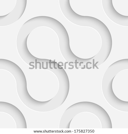 Vector Seamless Wave Pattern - stock vector