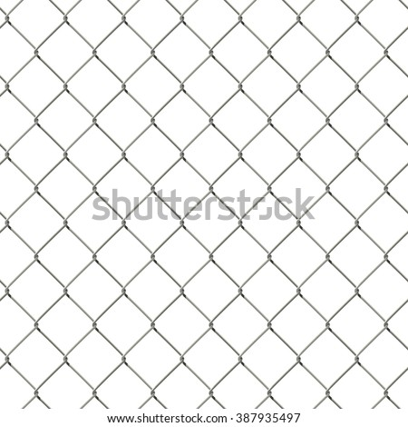 Vector seamless wire mesh fence