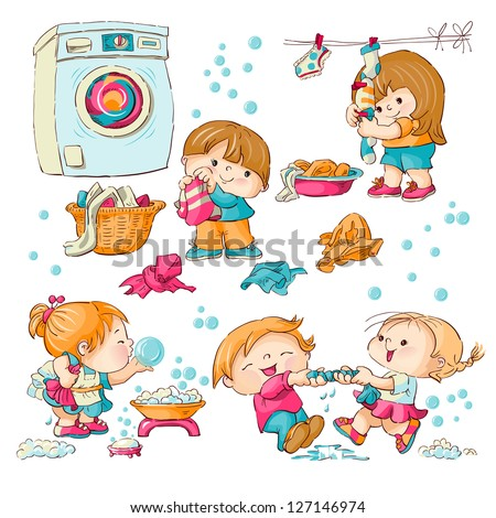 Washing Clothes Stock Photos Images Amp Pictures