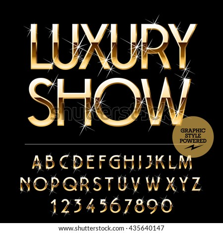 gold lettering font gold letters stock images royalty free images amp vectors 21962