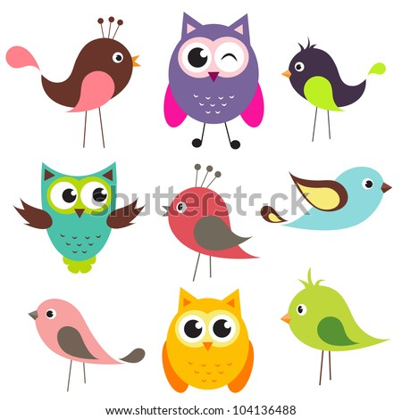 cartoon birds stock images royaltyfree images amp vectors