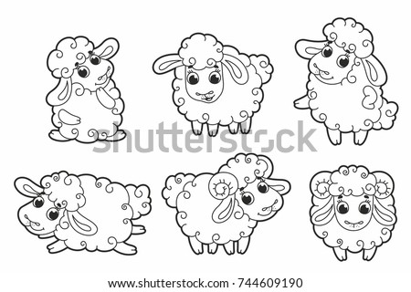 Cute Sheep Stock Images, Royalty-Free Images & Vectors ...
