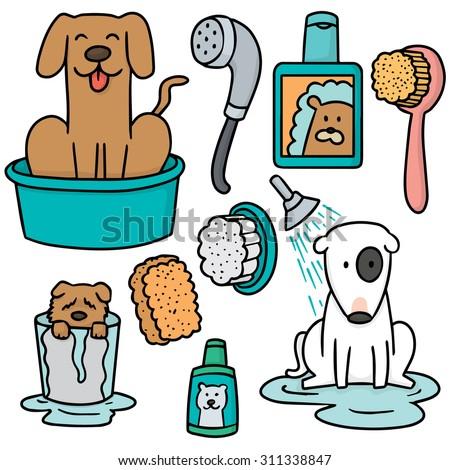 Pet Bath Stock Vectors, Images & Vector Art | Shutterstock