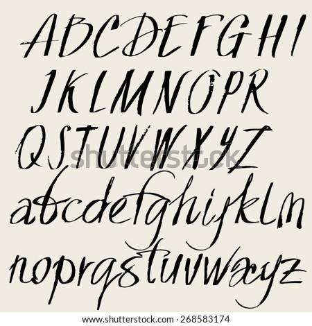 Cursive Alphabet Stock Images, Royalty-Free Images & Vectors ...
