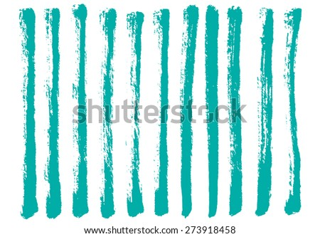 Vector set of hand drawn lines. Design elements collection - stock vector