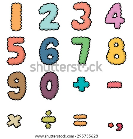 vector set of number