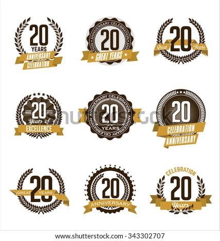 Anniversary Symbol Stock Images Royalty Free Images Vectors