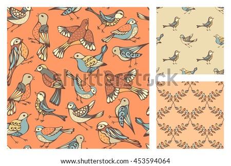 Stylish Vector Seamless Pattern Background Wallpaper 485701894 Src Ms5...