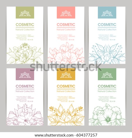 Mis tery39s portfolio on shutterstock for Cosmetic label templates