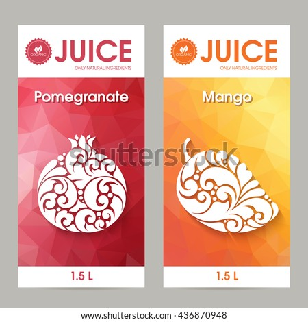 Juice Label Images RoyaltyFree Images Vectors – Label Design Templates