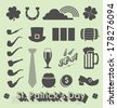 Vector Set: St. Patrick's Day Icons and Symbols - stock vector