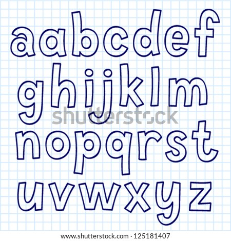 Doodle Font Stock Photos, Royalty-Free Images & Vectors - Shutterstock