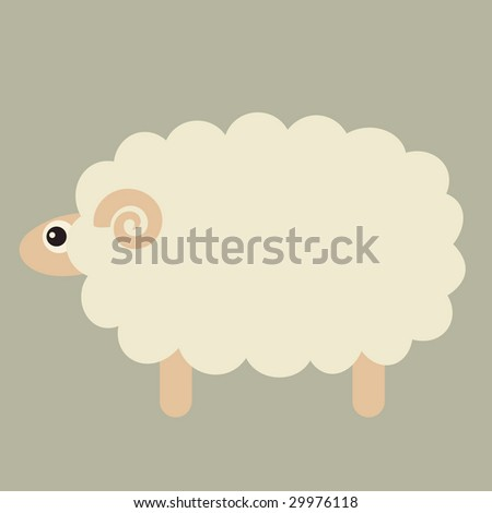 vector sheep