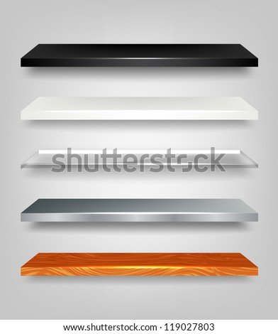 Vector Shelves Collection