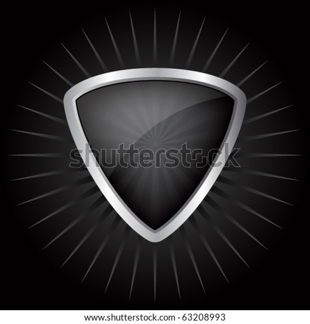 Vector shields for design - stock vector