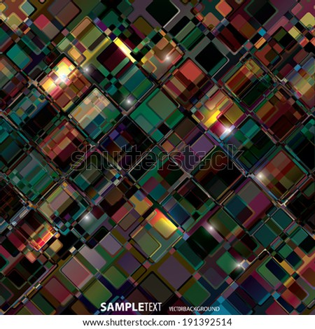 Vector shining background - stock vector
