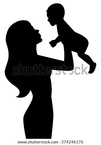 mother baby silhouette wwwpixsharkcom images