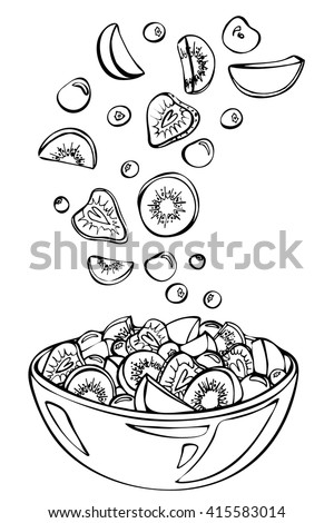 Blueberries in white bowl  Food amp Drink Photos  Creative