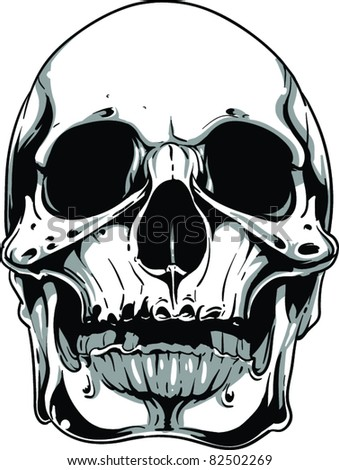 "TSHIRT-FACTORYdotCOM's ""Skulls"" set on Shutterstock"