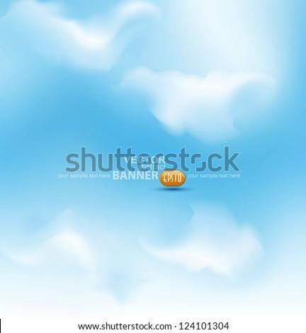 vector sky - stock vector