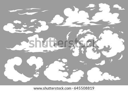 vector smoke special effects template steam stock vector 645508819 rh shutterstock com smoke vector ai smoke vector photoshop brush
