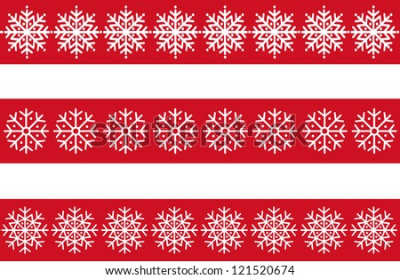 Vector snowflakes set. Design elements - stock vector