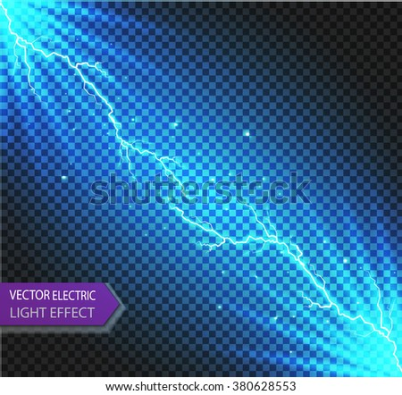 Vector Sparks.vector electrical and  star. Vector illustration.