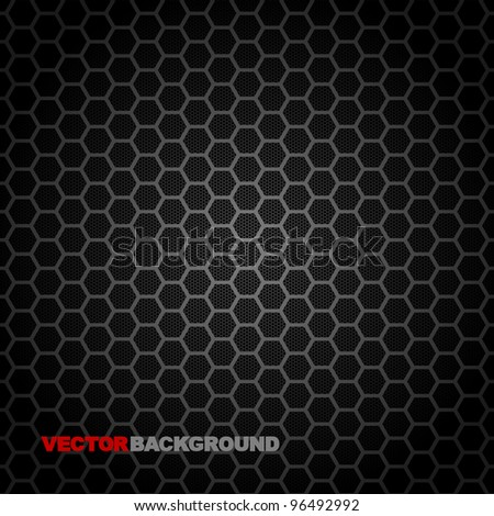 Vector Speaker Grille Texture. Illustration - stock vector