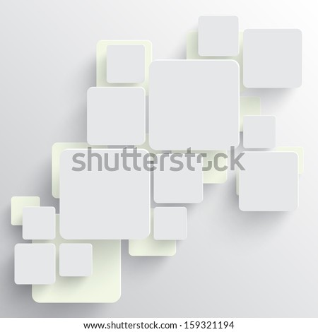 Vector squares background