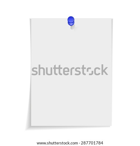 vector stack of papers - stock vector