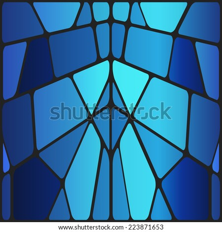 Vector stained glass