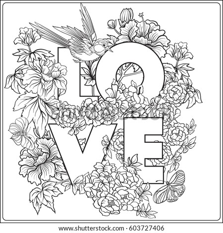 87 Coloring Pages Of Birds And Butterflies