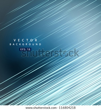 Vector straight lines - stock vector
