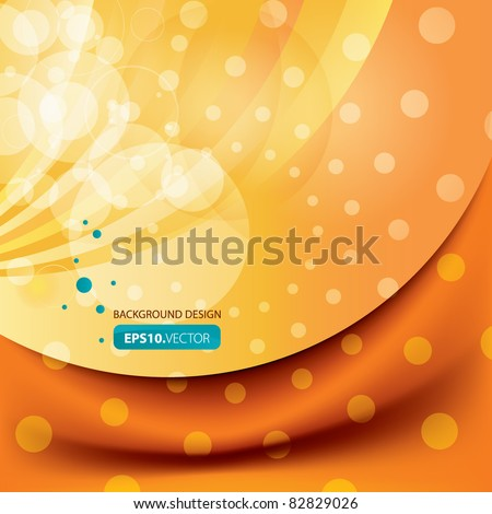 Vector summer end background design - stock vector