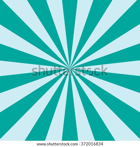 Vector sunburst abstract background - stock vector