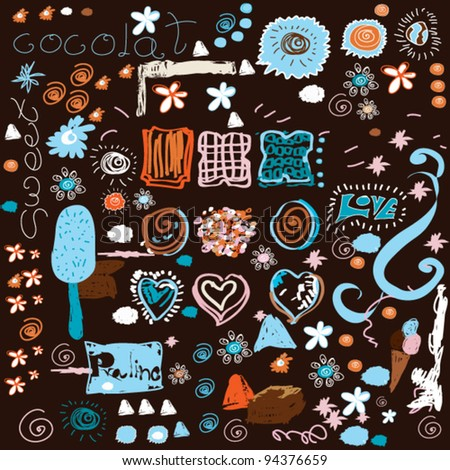 vector sweet background