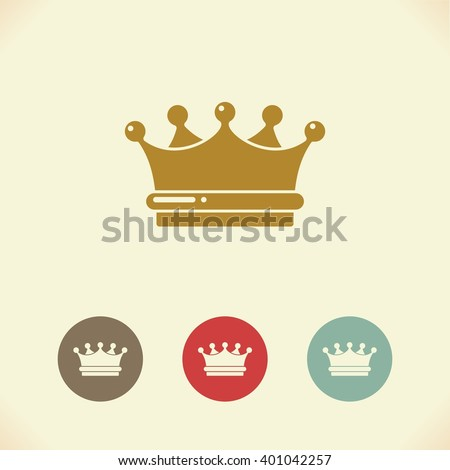 Vector symbol of the Royal crown