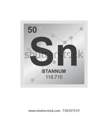 Vector symbol tin periodic table elements stock vector 758107519 vector symbol of tin from the periodic table of the elements on the background from connected urtaz Image collections