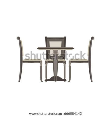 dining chair stock images royalty free images vectors On comedor vector