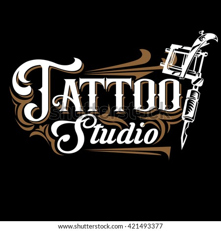 Tattoo stock images royalty free images vectors for Vintage tattoo art parlor