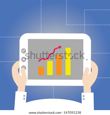 vector technology style for use - stock vector