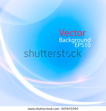 vector Template Abstract background with curves and lines. For flyer, brochure, booklet and websites design