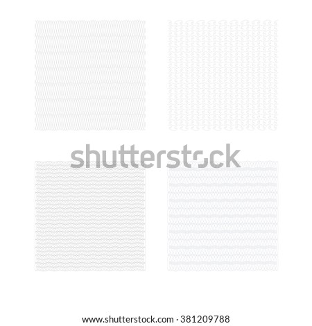 vector template design of certificate with guilloche pattern (watermarks). - stock vector